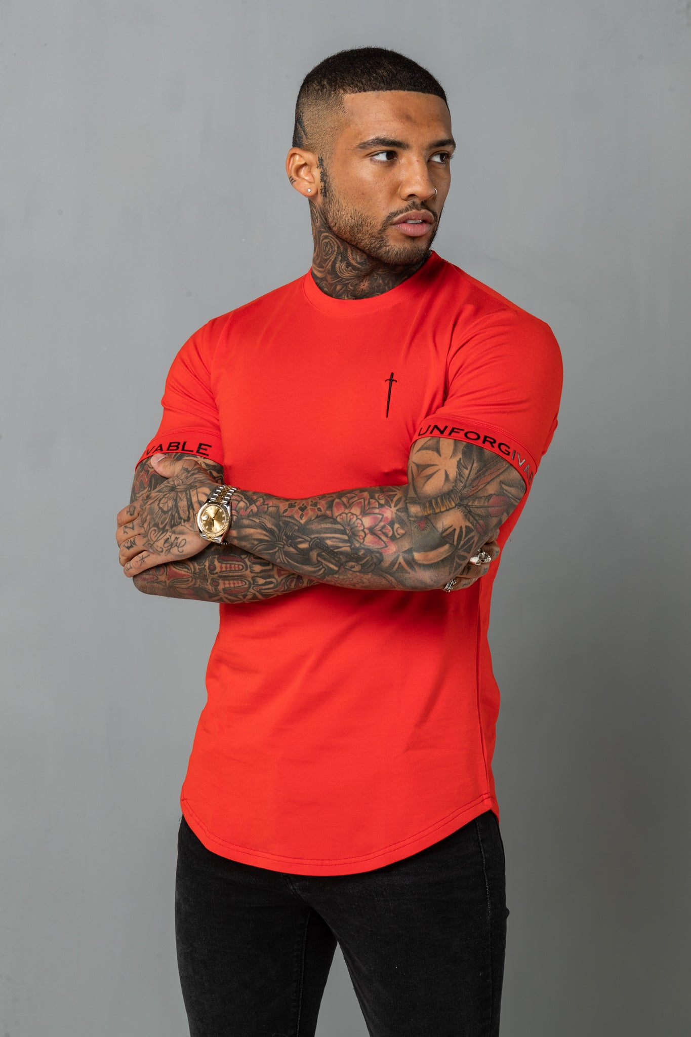 Super Slim Tee - Red