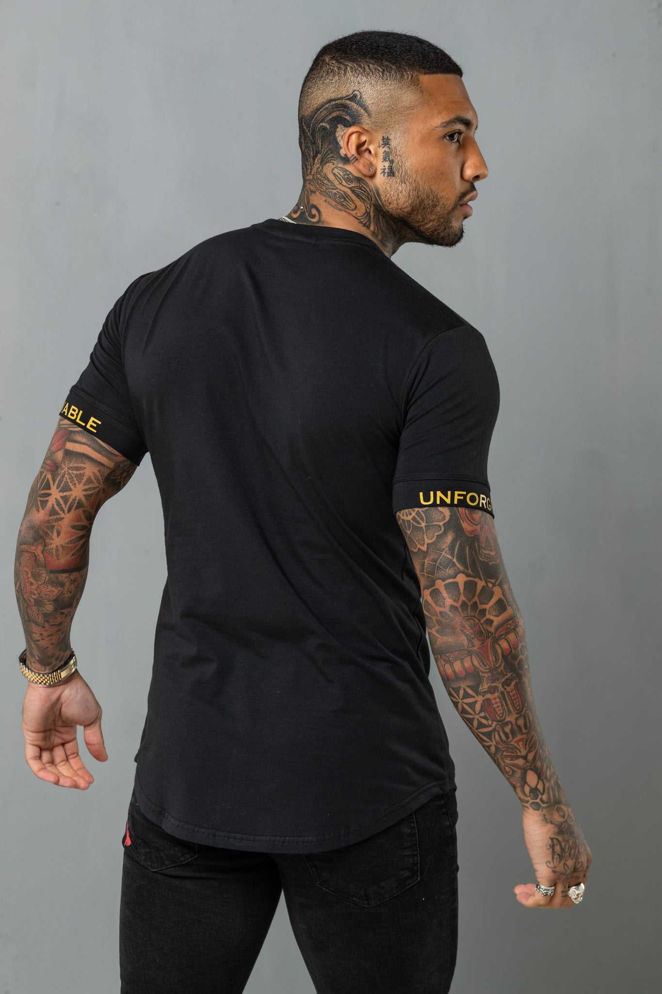 Super Slim Tee - Black