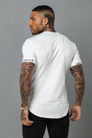Super Slim Tee - White