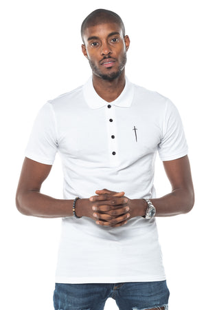 Sinner Polo Shirt - White