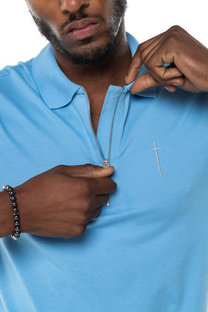 Envy Polo Shirt - Light Blue