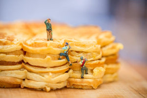 Tiny People - Waffle day
