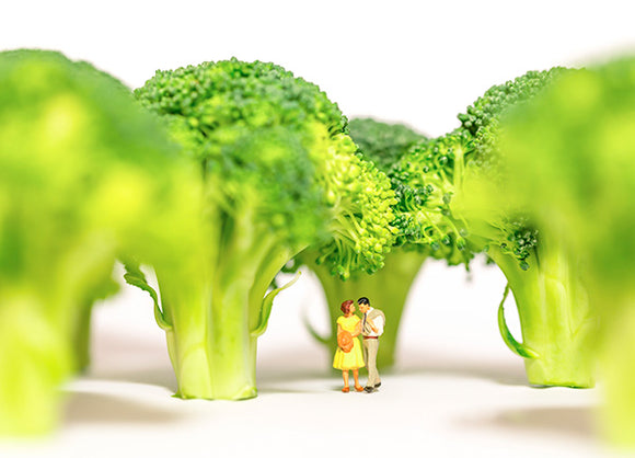 Tiny People - Broccoli Forrest