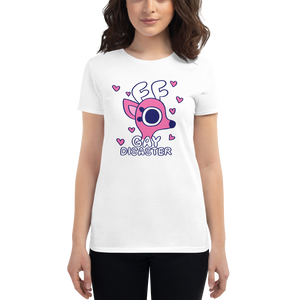Rae the Doe - Gay Disaster (Pink) Women's Fit T-Shirt