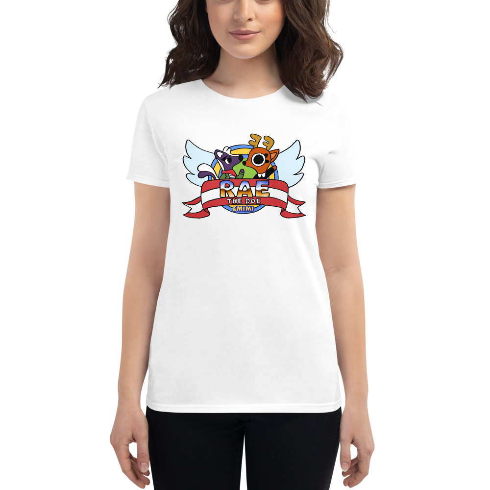 Rae the Doe - Title Screen Women's Fit T-Shirt