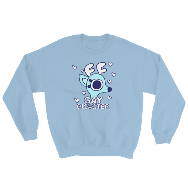 Rae the Doe - Gay Disaster (Blue) Sweater