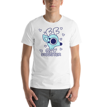 Load image into Gallery viewer, Rae the Doe - Gay Disaster (Blue) T-Shirt