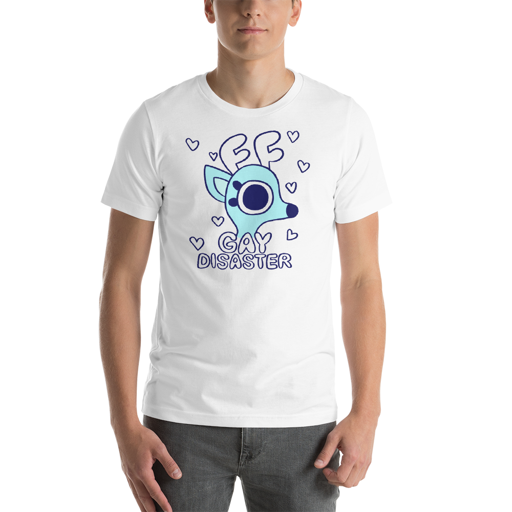 Rae the Doe - Gay Disaster (Blue) T-Shirt