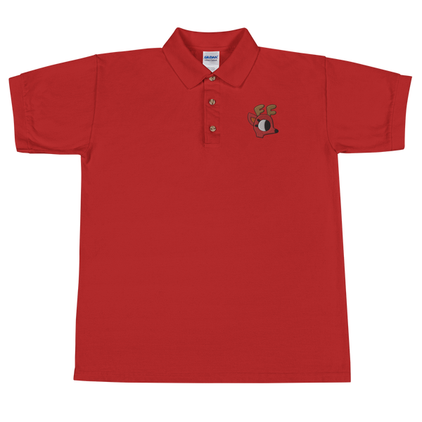 Rae the Doe Embroidered Polo Shirt