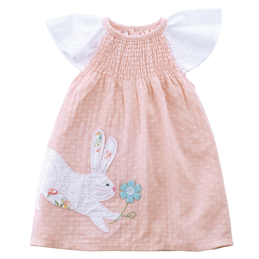Bunny Smocked Dress