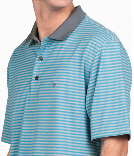 King Street Pique Polo Dusk Blue