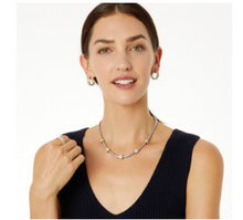 Load image into Gallery viewer, Meridian 2 Tone Necklace