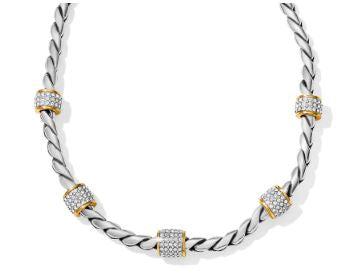 Meridian 2 Tone Necklace