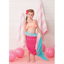 Load image into Gallery viewer, Mermaid Tail Towel