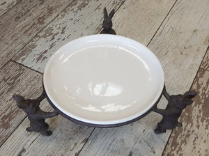 Bunny Plate Stand