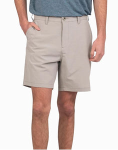 Castaway Performance Shorts Gray Ridge