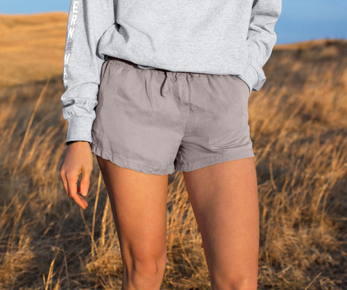 Rachel Relaxed Short Grey