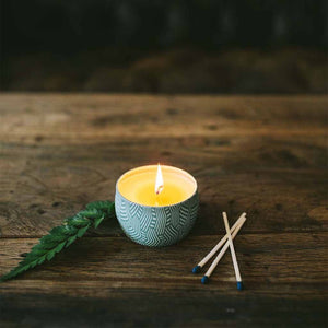 Afternoon Retreat Mini Candle