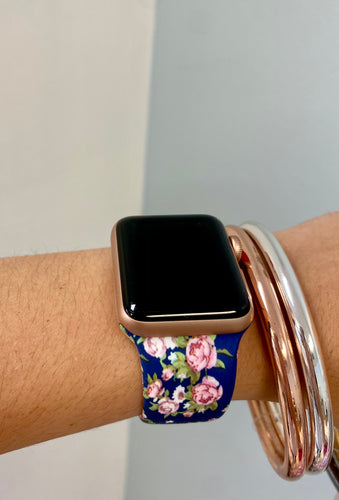 Engraved Silicone Watch Band Patterns