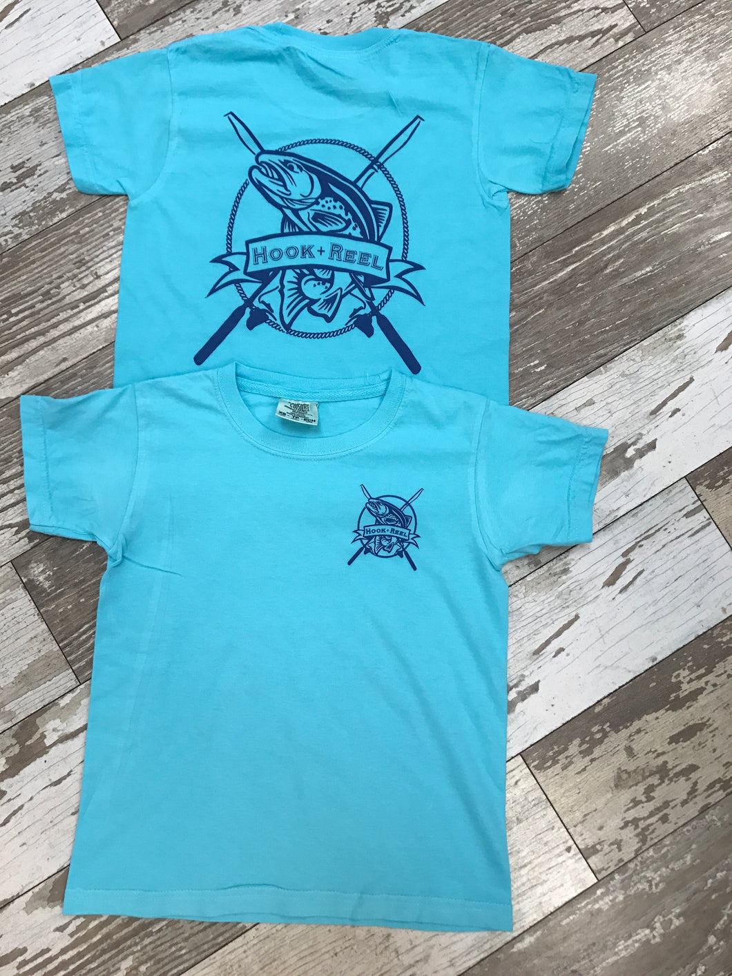 Youth Hook and Reel T-shirt