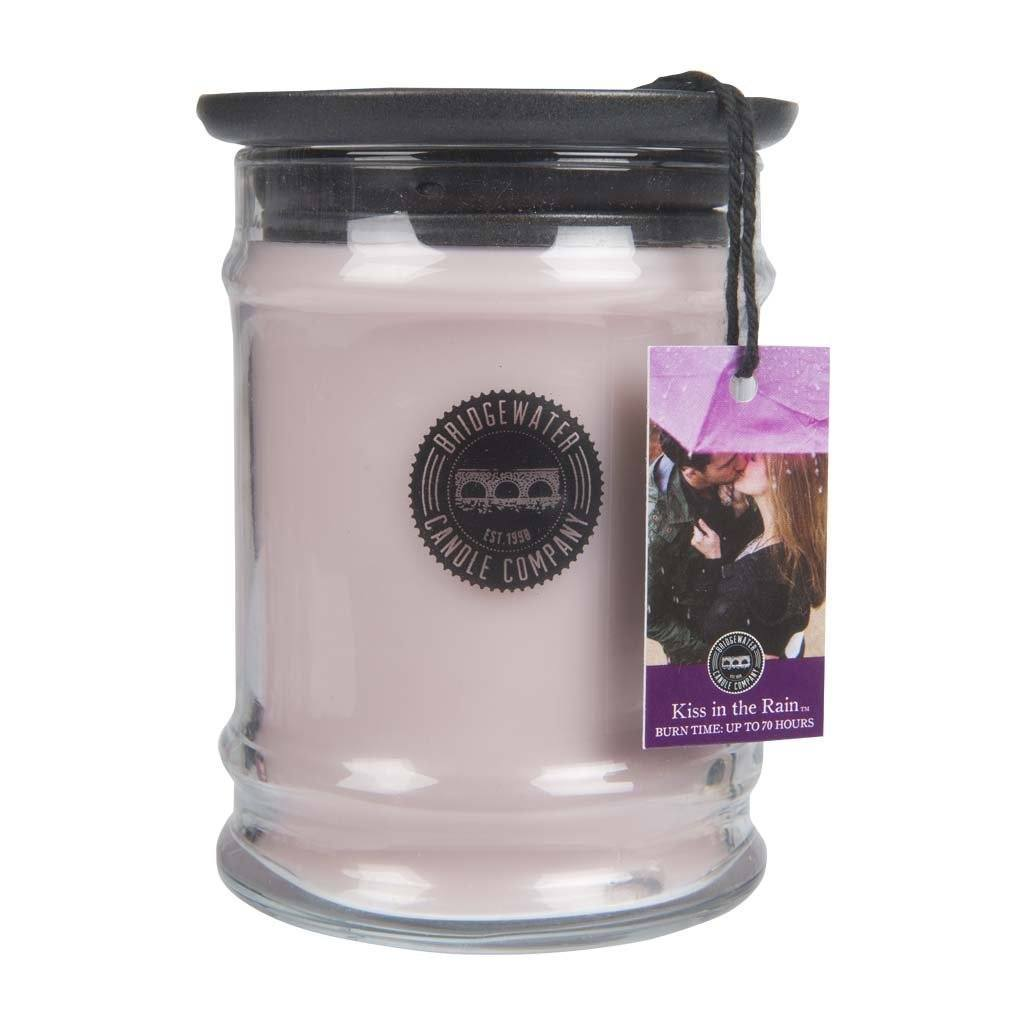 Small Jar Kiss In The Rain Candle