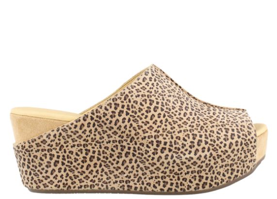 Wynn Cheetah Suede Wedge