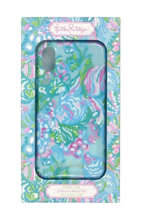 Lilly Pulitzer IPhone X/Xs Case Aqua La Vista