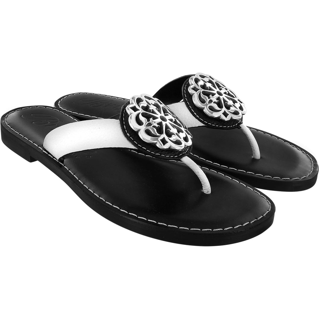 Alice Sandals Black and White