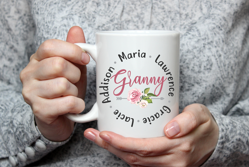Personalized Names Mug