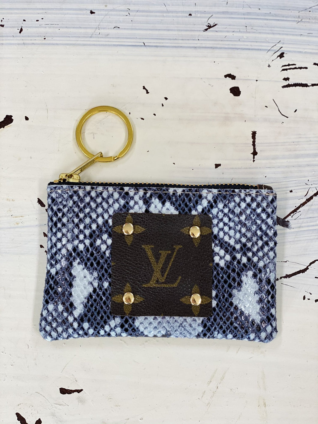 Snakeskin Coin Purse/ Card Holder