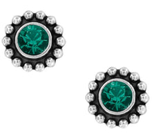 Load image into Gallery viewer, Twinkle Mini Post Earrings Emerald
