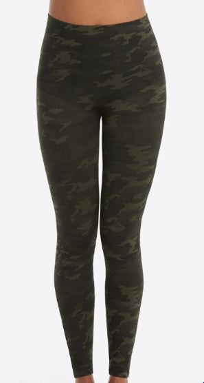 Look at Me Now Leggings Green Camo
