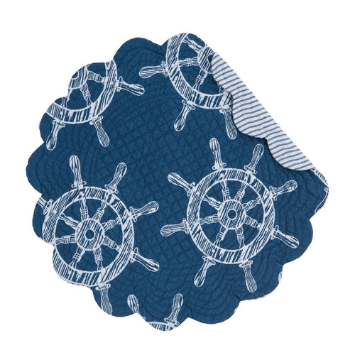 Maritime Round Placemat