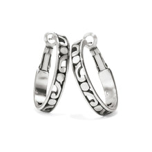 Load image into Gallery viewer, Contempo Small Hoop Earrings