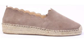 CS Suede Taupe Covered Foot