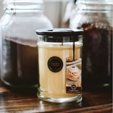 Load image into Gallery viewer, Large Jar Vanilla Cream Candle