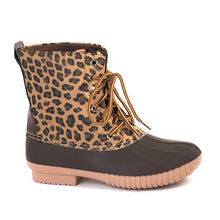 Load image into Gallery viewer, Kids Monogrammed Boots Zelda Leopard