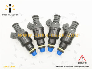 Set Of 4 Fuel Injector OEM 0280150965 For Plymouth Dodge Neon Eclipse Chrysler Sebring 2.0