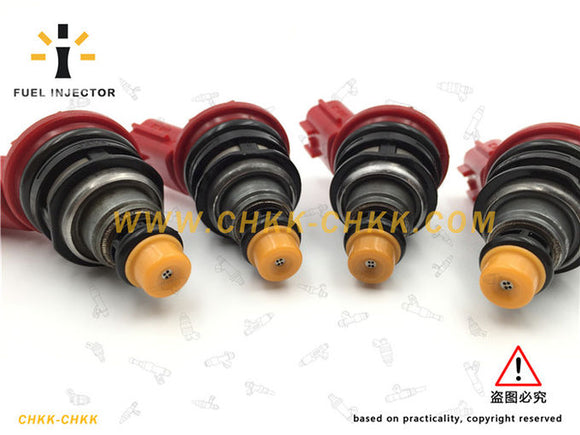 Red 188U1-CH100 OEM High Performance Fuel Injector , 1000cc Subaru Fuel Injectors