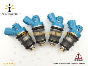 23250-75070 OEM Toyota Fuel Injector For Toyota Dyna Hiace Hilux Regiusace Qualis
