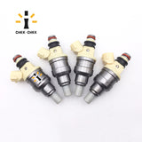 Genuine B2200 2.2L Set Of 4 Fuel Injectors INP081 INP-081