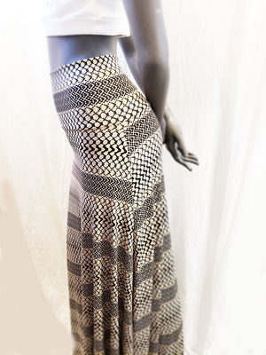 Boho Maxi Brunch Skirt