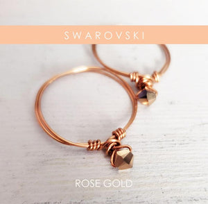 Rose Gold Swarovki Ring