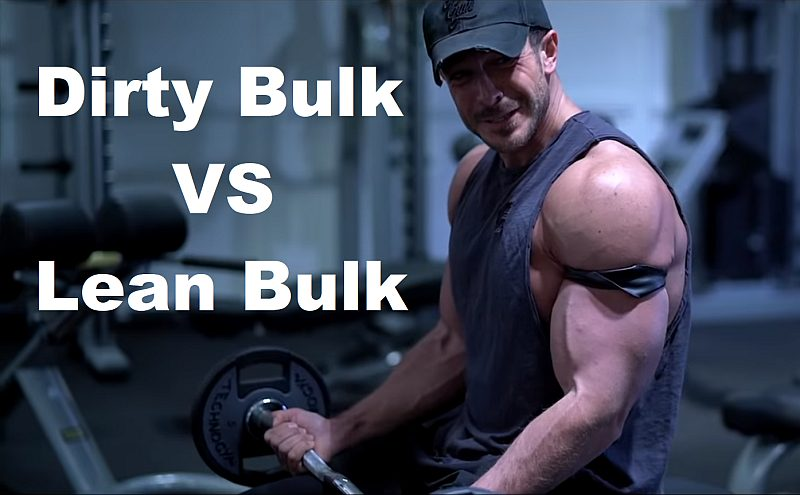 BODY IP Dirty Bulk vs Lean Bulk