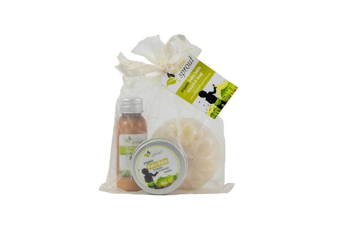 Essential Relaxation - Little Sprout Baby Gift Set