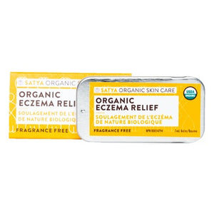 Satya Organic Eczema Relief Travel Tin