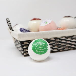 Natural Bath Fizzers - Eucalyptus Spearmint