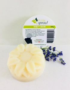 Little Sprout Calendula Soap - Handmade in Prince Edward County, ON– Essential Relaxation