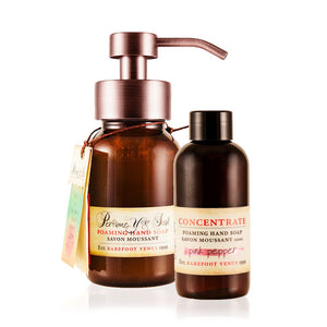 Foaming Hand Soap 2 Piece Refillable Gift Set - SALE!