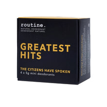 Routine Deodorant Greatest Hits Mini Kit